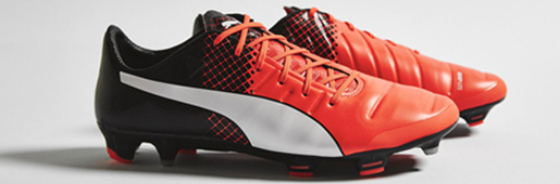 "PUMA evoPOWER 1.3 ""Shocking Orange/Black/White"" : Football Boots : Soccer Bible"