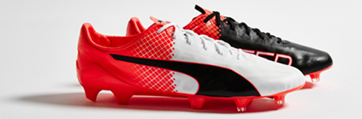 "PUMA evoSPEED SL II ""Black/White/Red Blast"" : Football Boots : Soccer Bible"