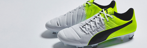 "PUMA evoPOWER 1.3 ""White/Safety Yellow"" : Football Boots : Soccer Bible"