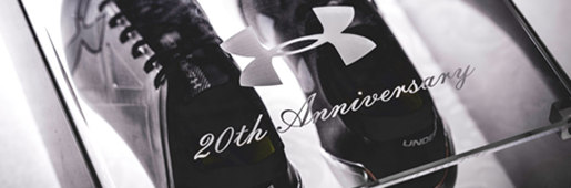 """安德玛20周年""""金属""""配色纪念套装"""