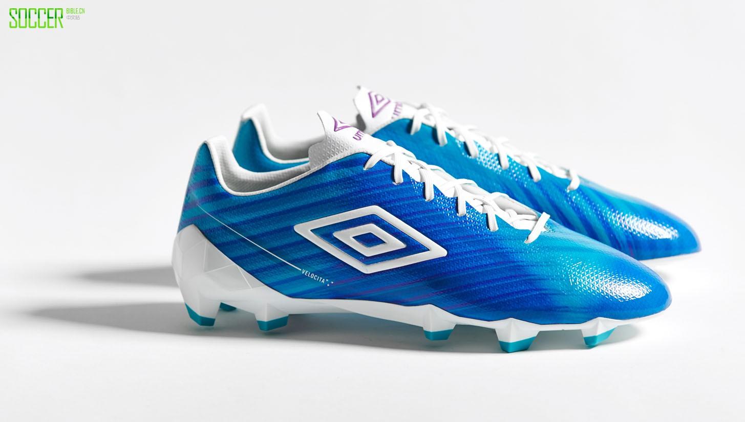 "Umbro Velocita II ""Bluebird"" : Football Boots : Soccer Bible"