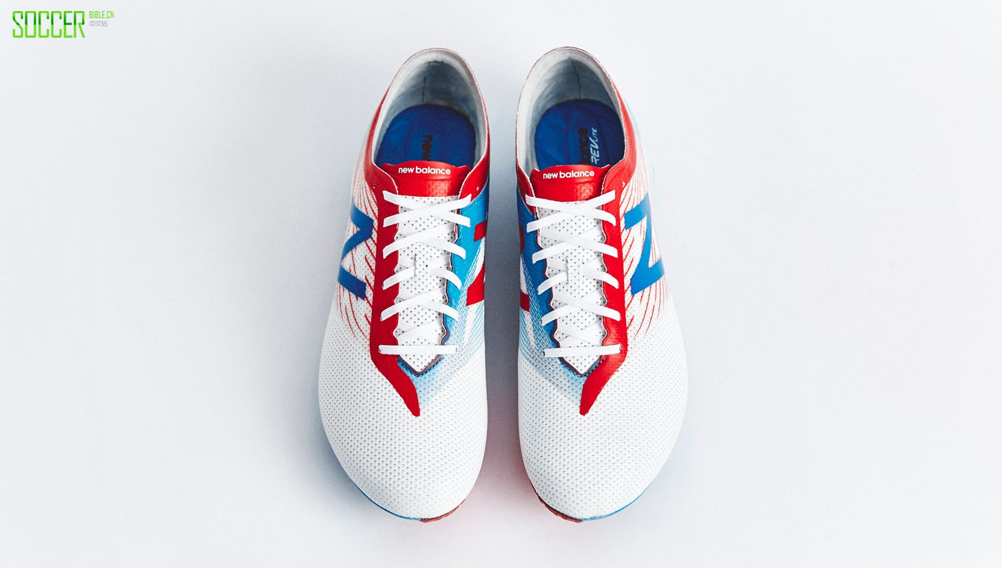 "New Balance Furon 2.0 ""White/Blue/Red"" : Football Boots : Soccer Bible"