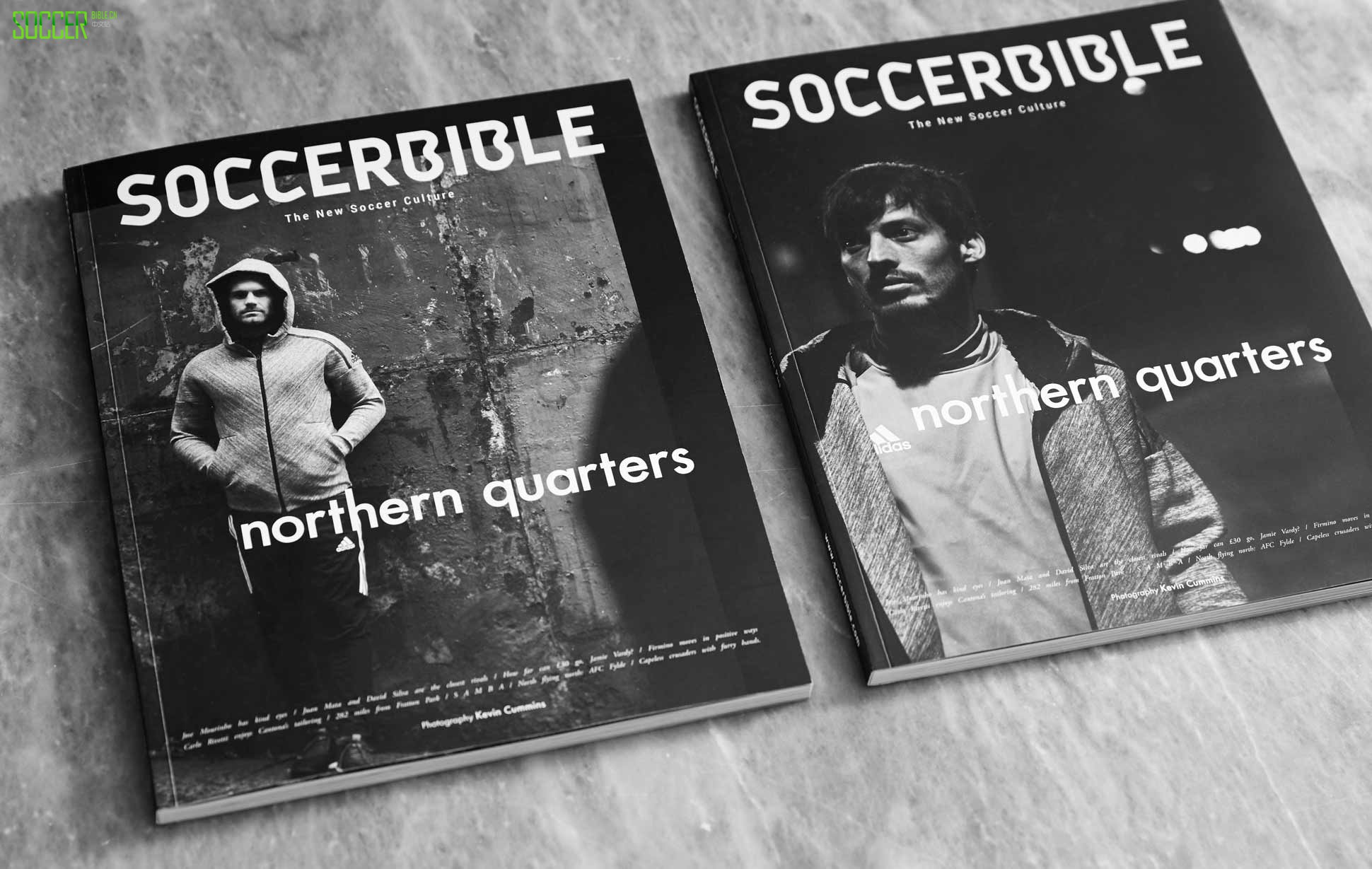 SoccerBible Magazine Issue 7: Northern Quarters : Books and Magazines : Soccer Bible