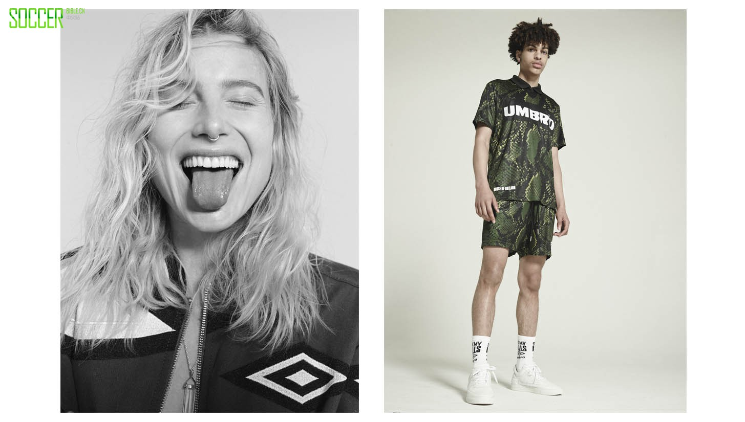 Umbro x House of Holland Lookbook : Clothing : Soccer Bible