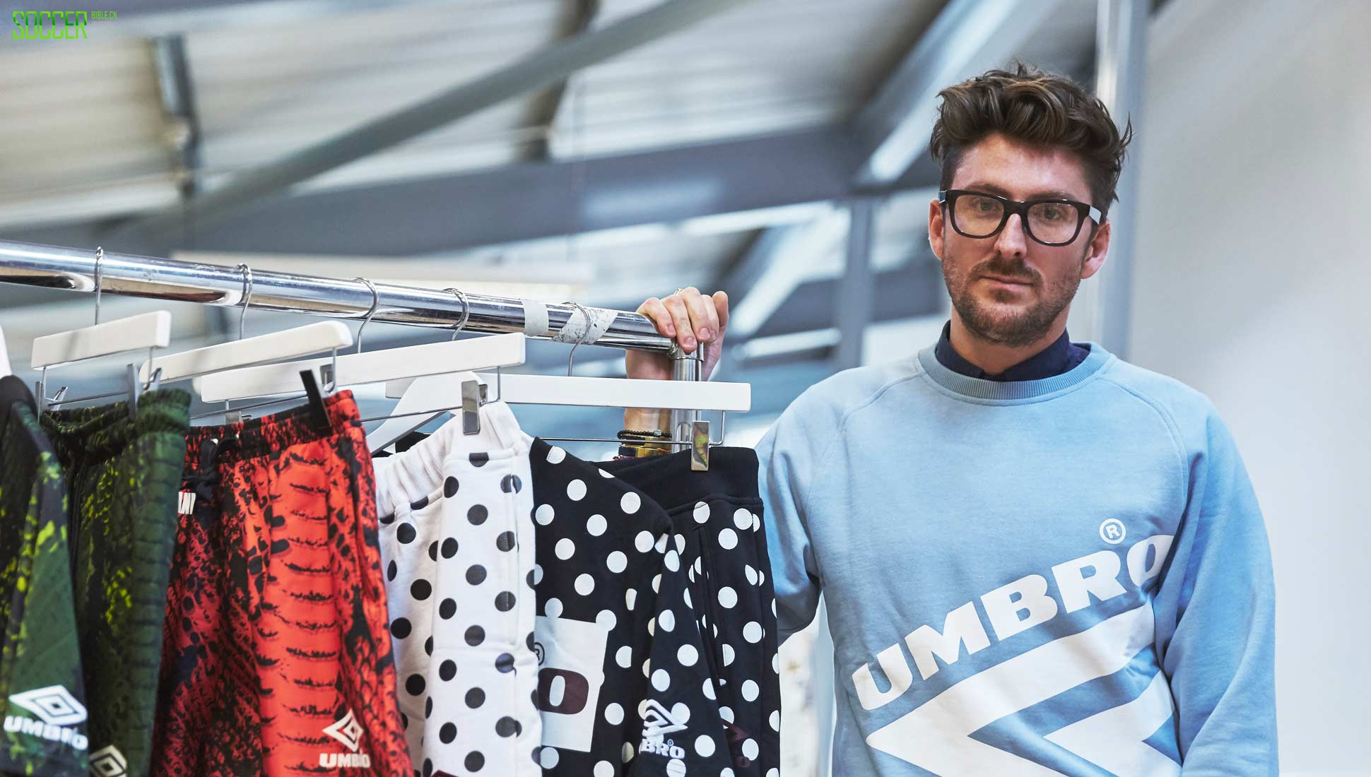 Discussing the Umbro x HOH Collection with Henry Holland : Clothing : Soccer Bible