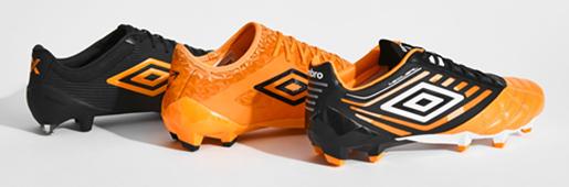 橙色风暴来袭 UMBRO推出全新ORANGE POP配色系列足球鞋