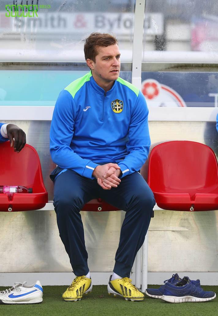 Jamie Collins (Sutton United) adidas F50 adizero
