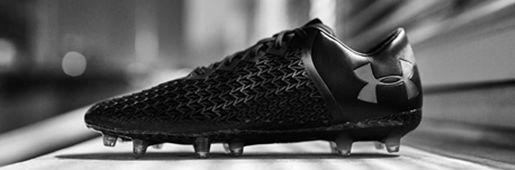 安德玛全黑clutchfit 3.0 3D限量足球鞋