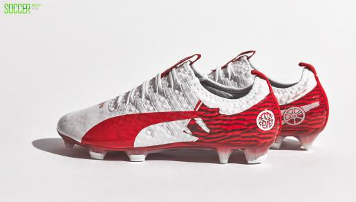 "Olivier Giroud ""Derby Fever"" PUMA <font color=red>evoPOWER</font> : Football Boots : Soccer Bible"
