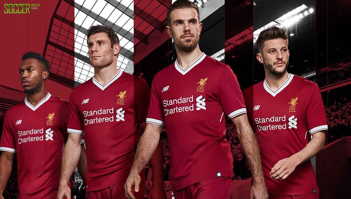 New Balance Launch Liverpool 2017/18 Home Shirt : Football Apparel : Soccer Bible
