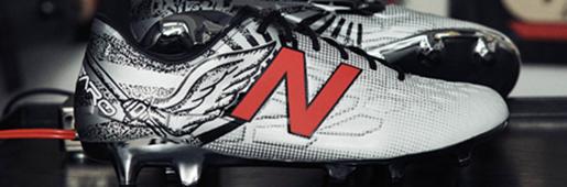 New Balance为拉姆塞推出个人专属Visaro限量足球鞋