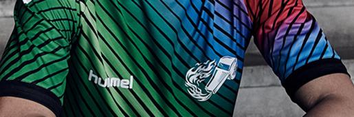 SoccerBible x Hummel Hive 联袂发布文化衫