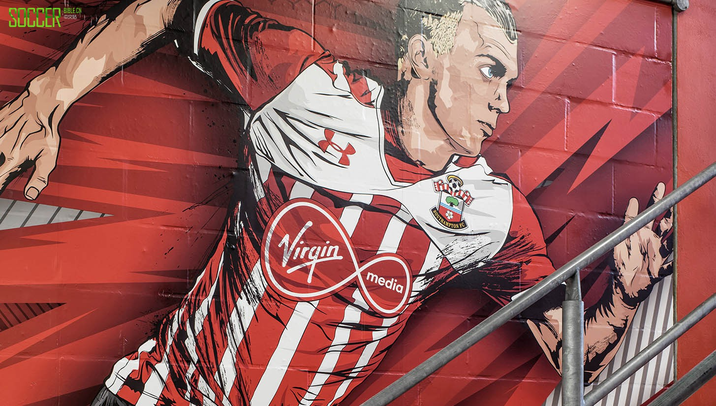 Southampton FC Collaborate With WHITEHYPE : Art and Illustration : Soccer Bible