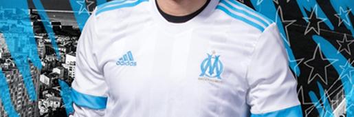马赛发布新赛季球衣