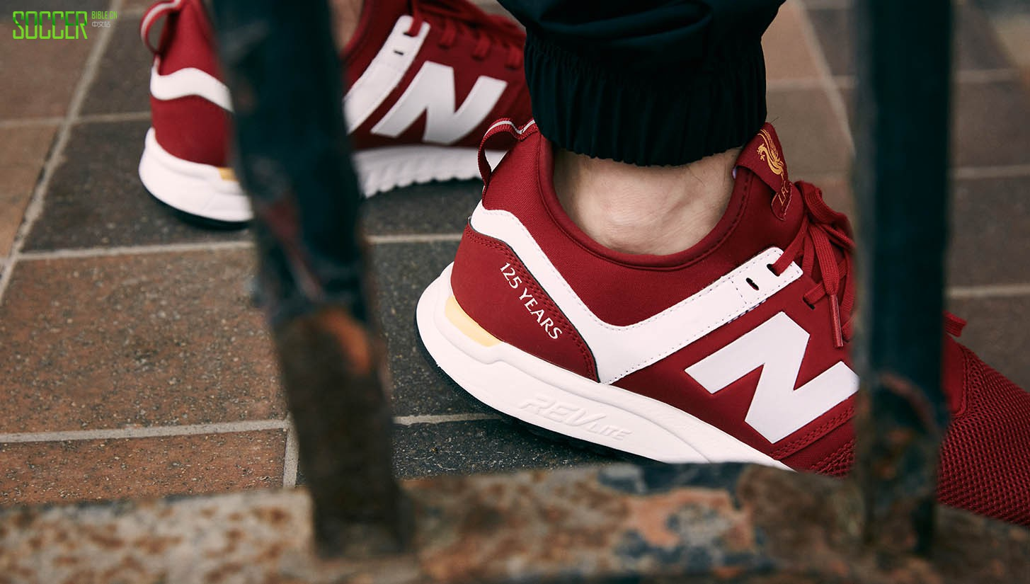 New Balance发布利物浦建队125周年纪念版247运动鞋