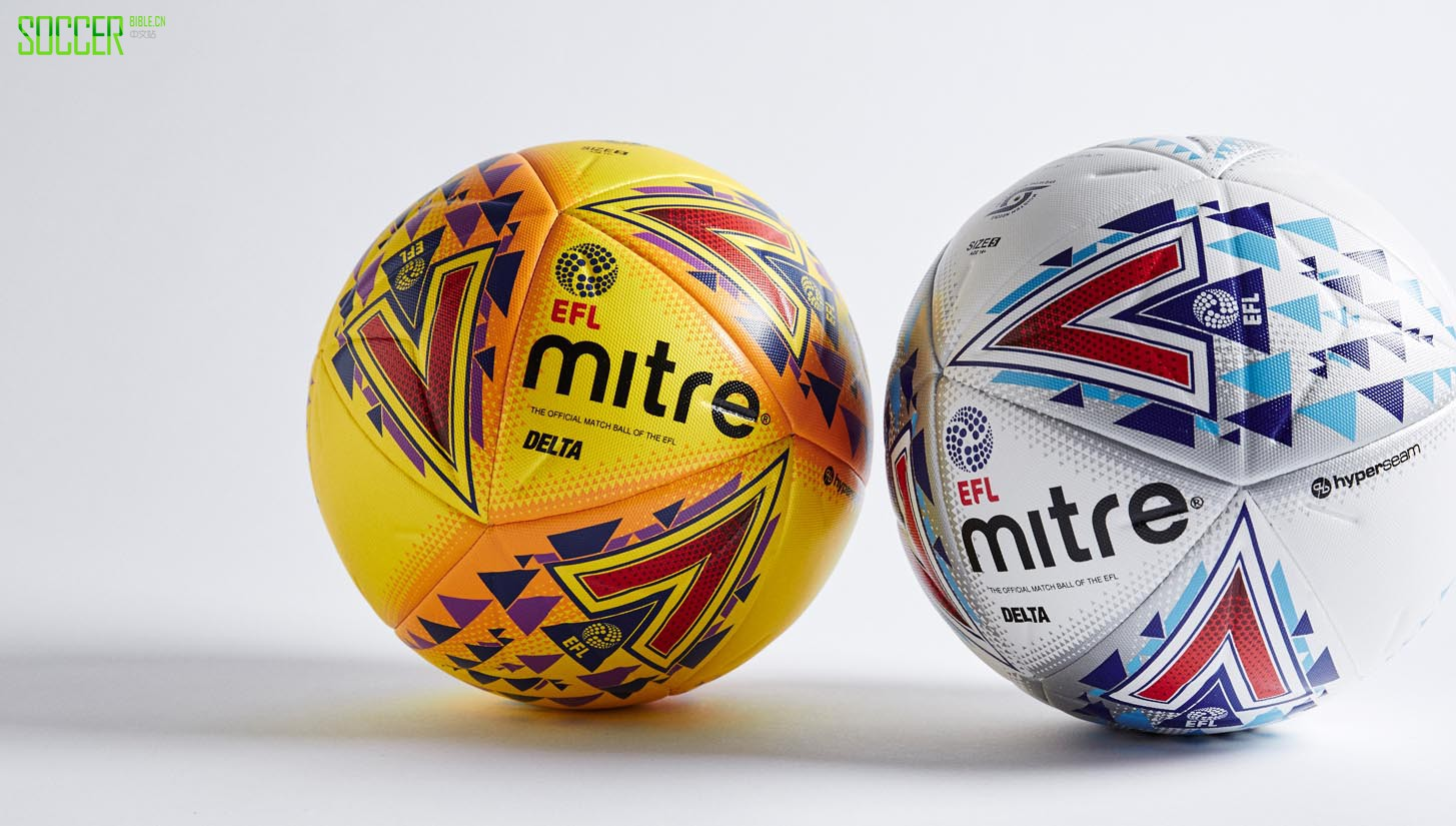 Mitre发布2017-18赛季Delta EFL英格兰联赛杯比赛用球