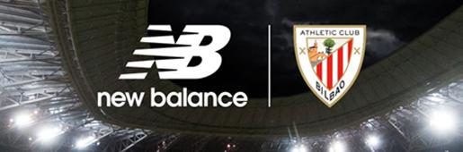 New Balance成为毕尔巴鄂竞技球衣赞助商