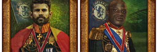 阿迪达斯和定制工作室共同推出切尔西夺冠画作