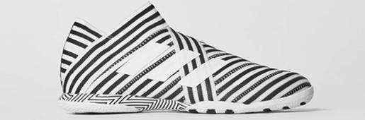 阿迪达斯发布Nemeziz 17+ 360 Agility室内足球鞋
