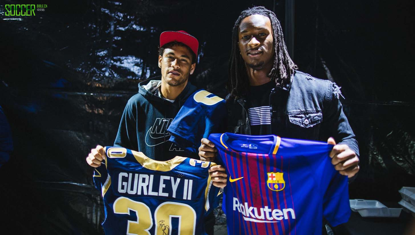 Neymar & Nike Head to Los Angeles : Events : Soccer Bible