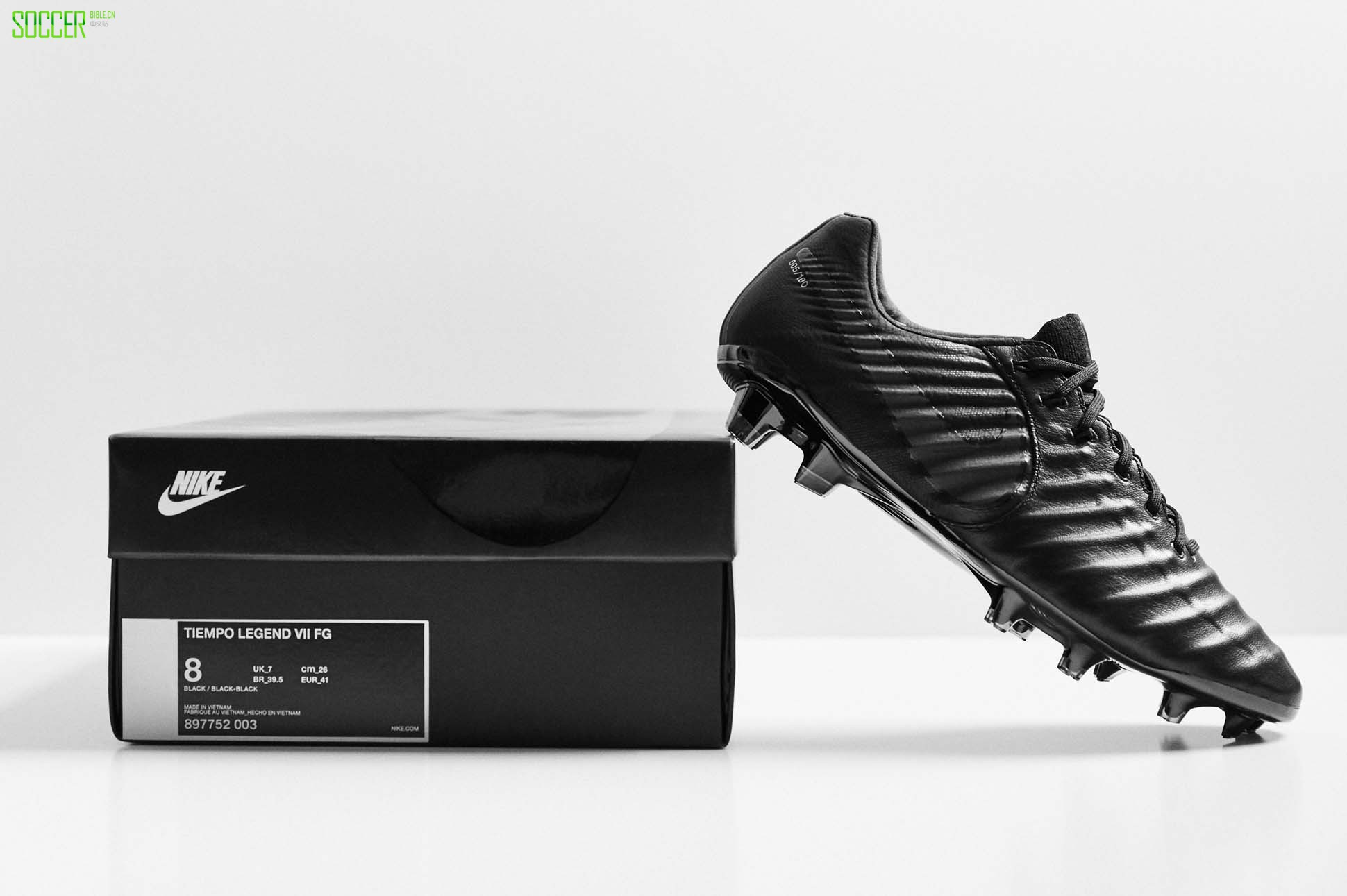 "Nike Tiempo Legend 7 Limited Edition ""Platinum Black"" : Football Boots : Soccer Bible"