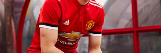 红魔复兴 曼联携手阿迪达斯发布2017/18赛季主场球衣