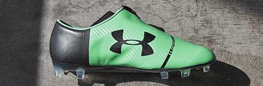 带拉链的足球鞋?安德玛发布全新Spotlight Pro