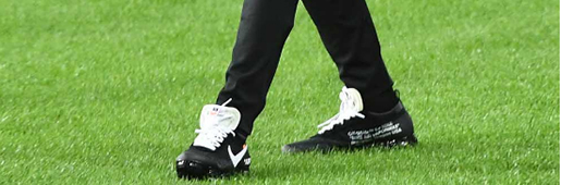 姆巴佩上脚OFF WHITE x Nike Air VaporMax