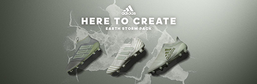 阿迪达斯发布Earth Storm地球风暴限量套装