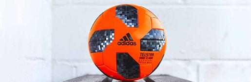 雪地里的大橙子 阿迪达斯Telstar 18冬季版比赛用球