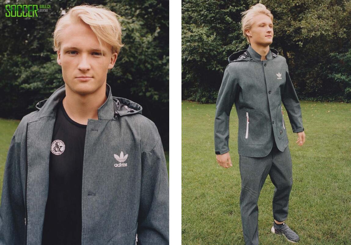 丹麦妖人为adidas Originals新年合作系列站台宣传