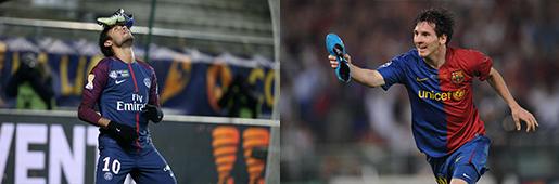 那些用足球鞋做道具庆祝进球的球员