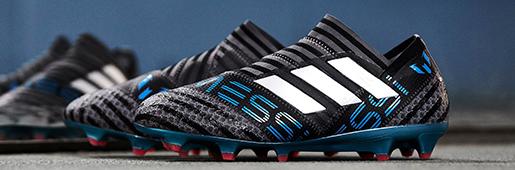 球王的新鞋 阿迪达斯推出Nemeziz Messi 17+冷血配色