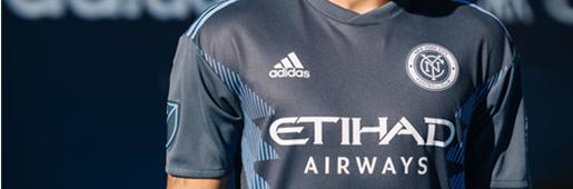 阿迪达斯发布纽约城2018赛季全新客场球衣