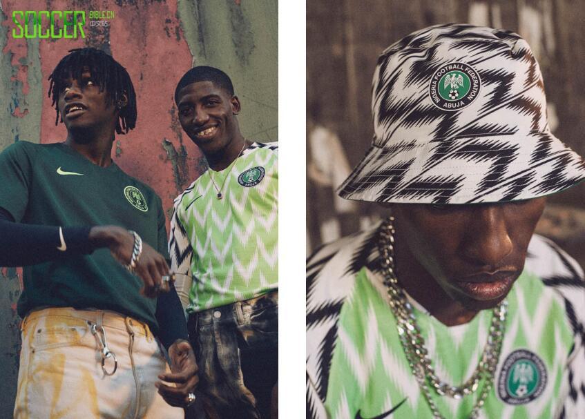 FOR NAIJA 耐克发布尼日利亚国家队2018世界杯主客场球衣