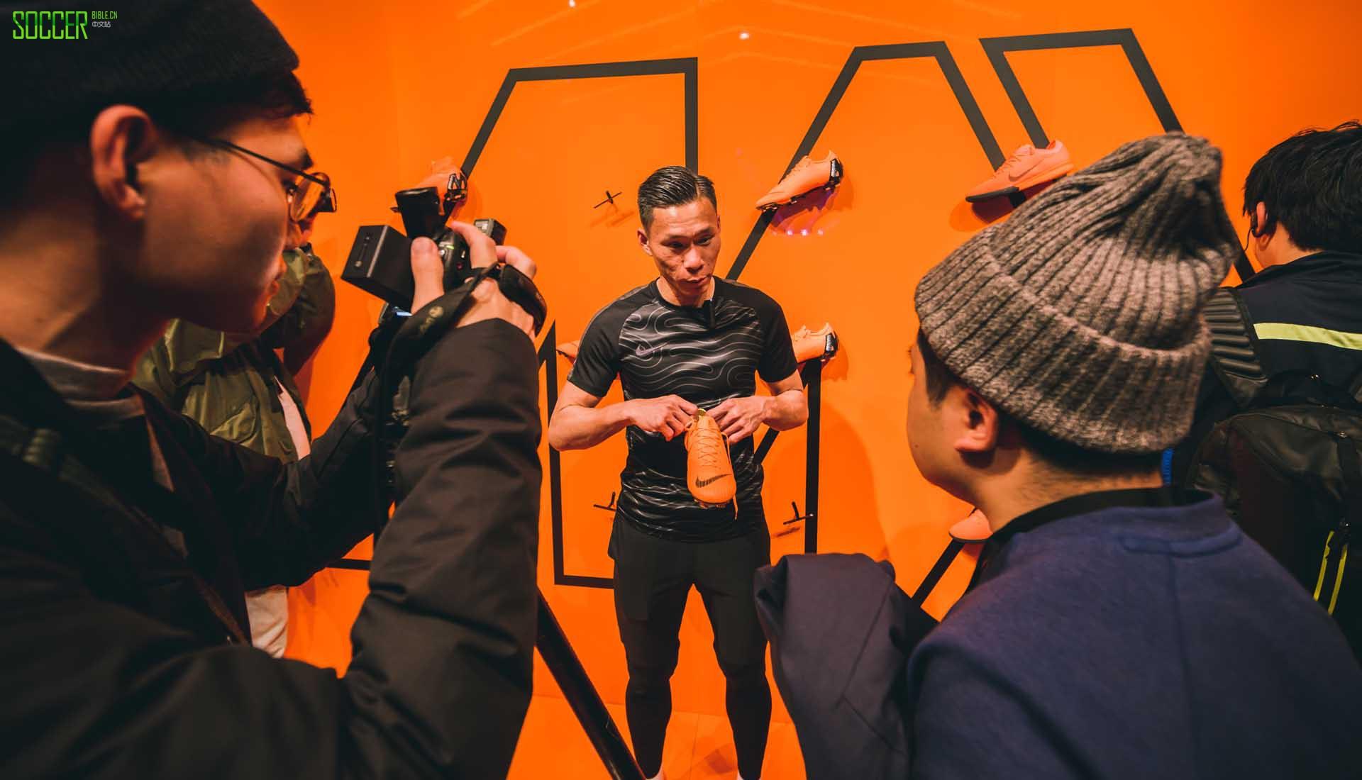 群星云集Nike Mercrucial 360足球鞋伦敦发布会