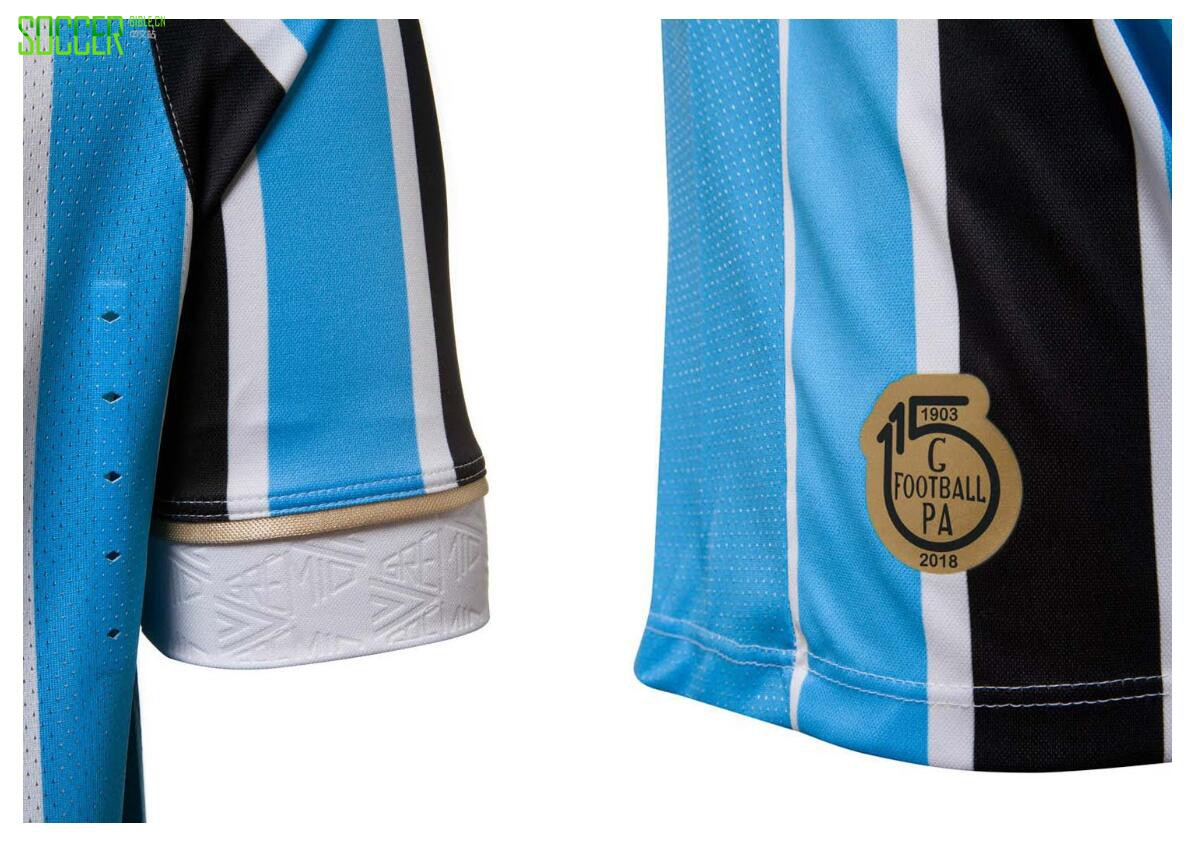 格雷米奥发布115周年纪念球衣