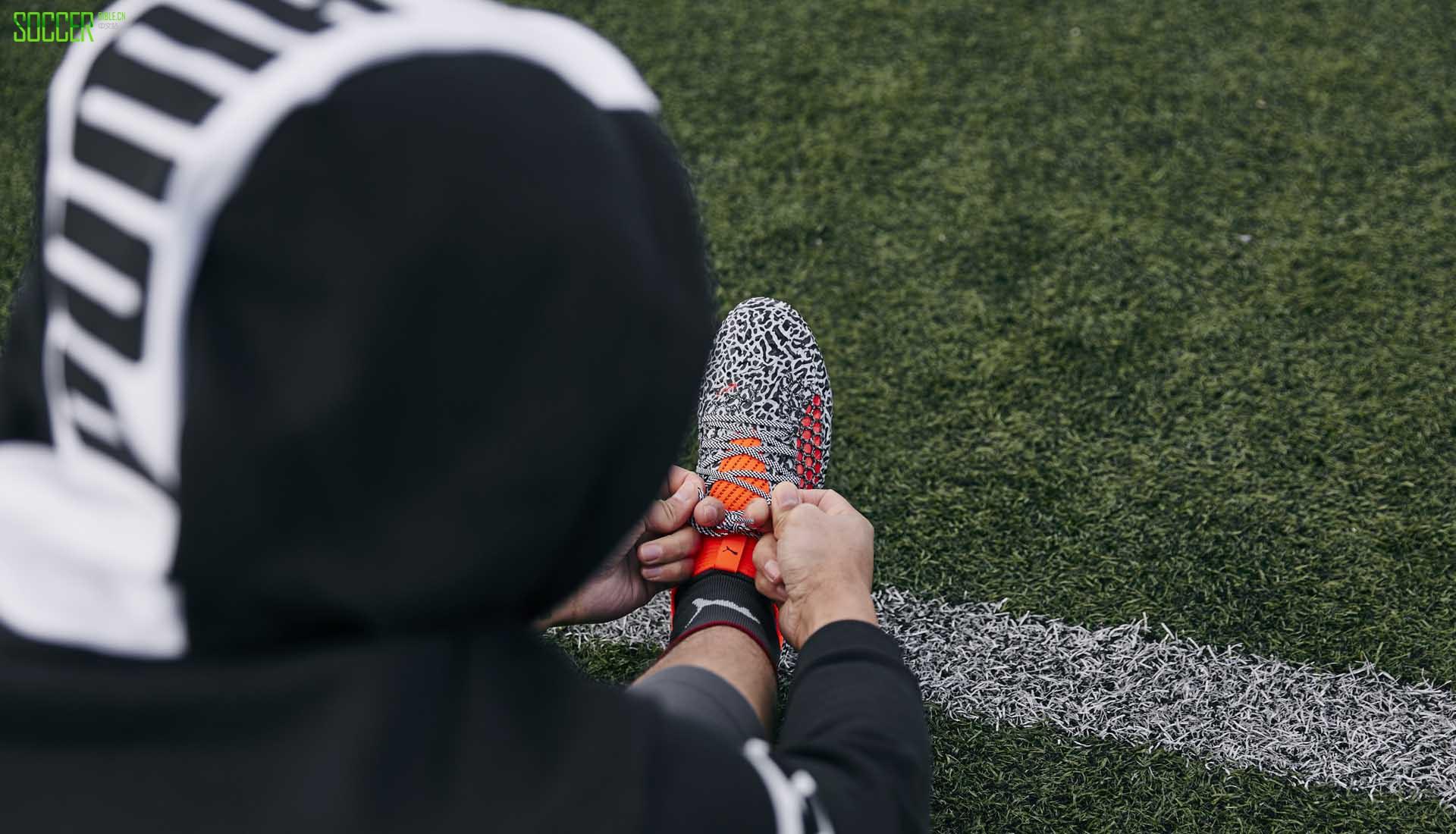 实战评测PUMA Future 18.1 NetFit 足球鞋