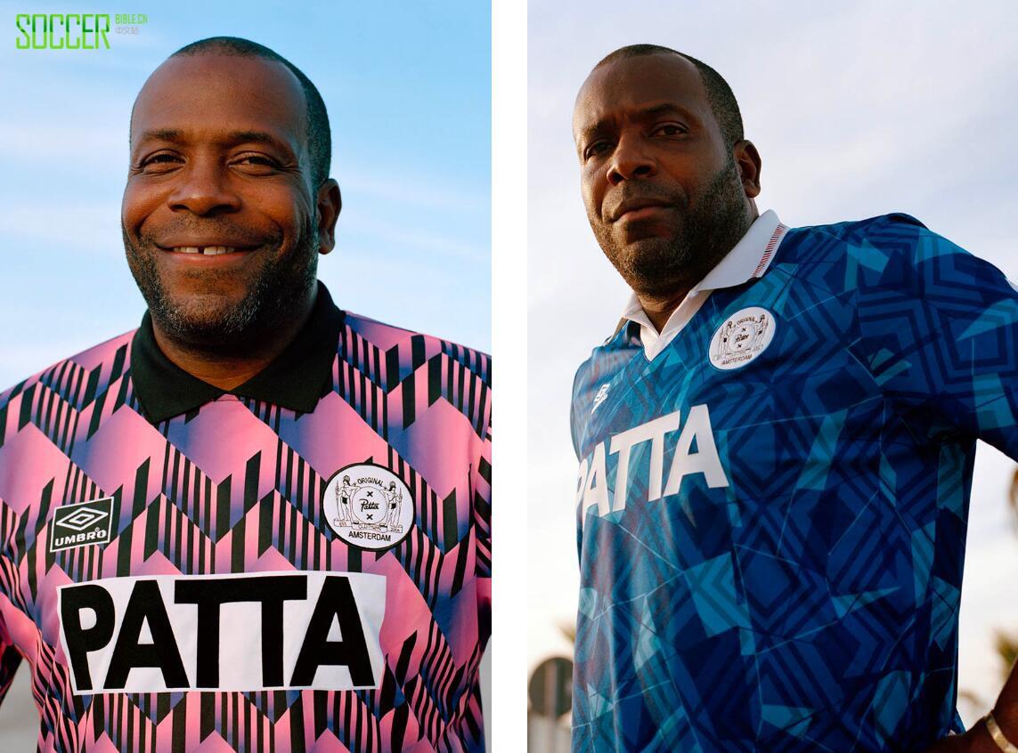 Patta和Umbro联名发布2018球衣套装