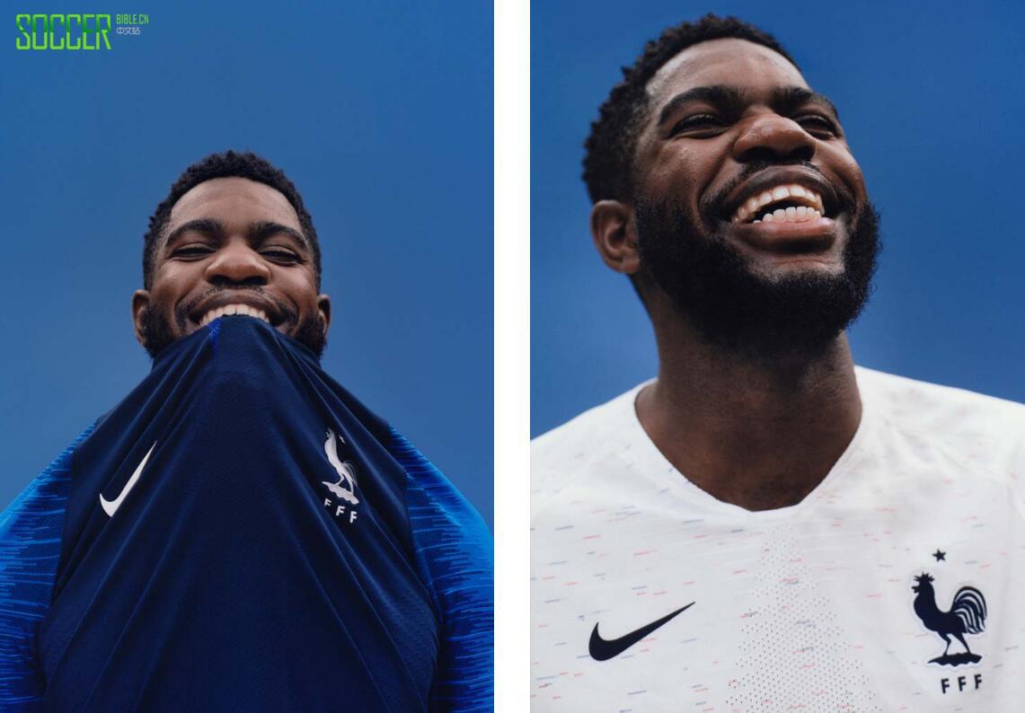 克发布2018世界杯法国队球衣