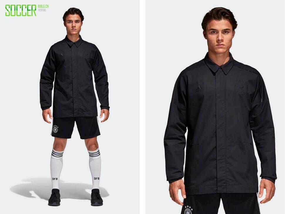 阿迪达斯推出Z.N.E系列2018年世界杯全黑出场服