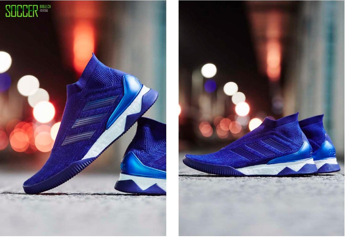 "adidas Predator Tango 18+ UltraBoost""殒命""配色足球休闲鞋"