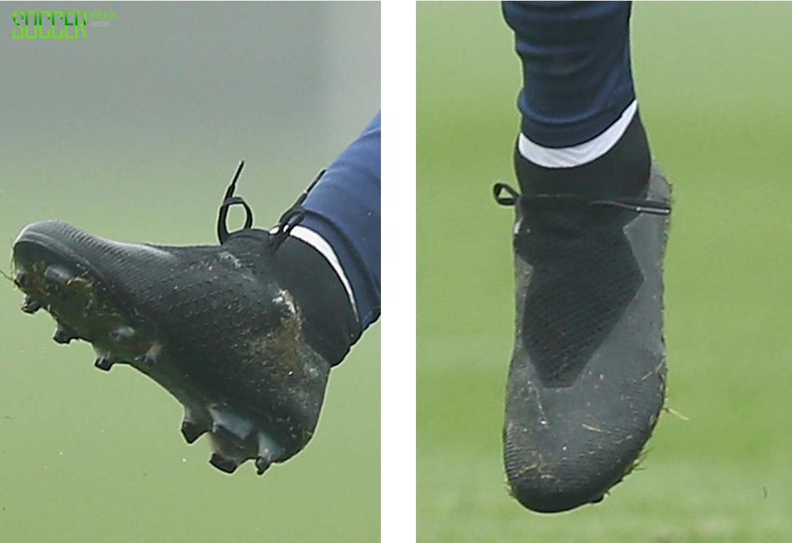 Nike神秘小黑鞋亮相热刺训练场