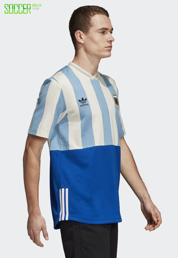adidas推出2018世界杯混搭款球衣