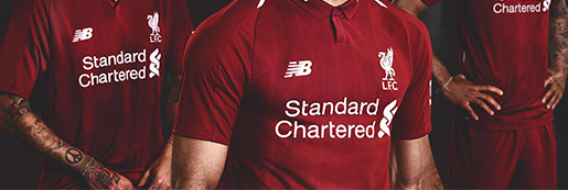 New Banlance发布利物浦2018-19赛季主场