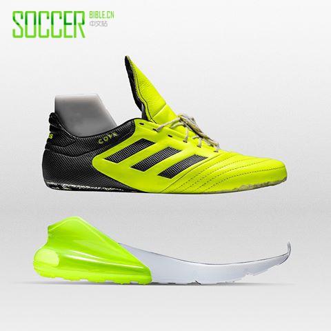 """""""球鞋医生""""发布新款混搭Copa足球鞋"""