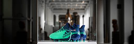萨拉赫的X17足球鞋进入大英博物馆