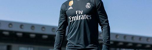阿迪达斯发布皇家马德里2018/19主客场球衣套装