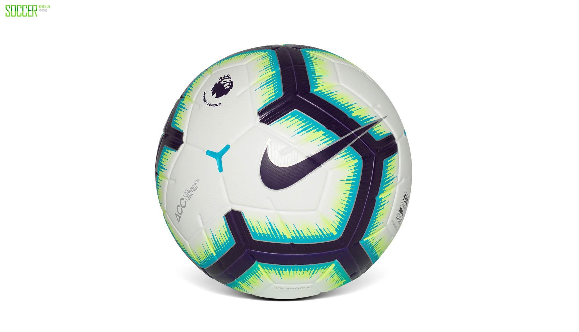 耐克发售Merlin英超18-19赛季比赛用球