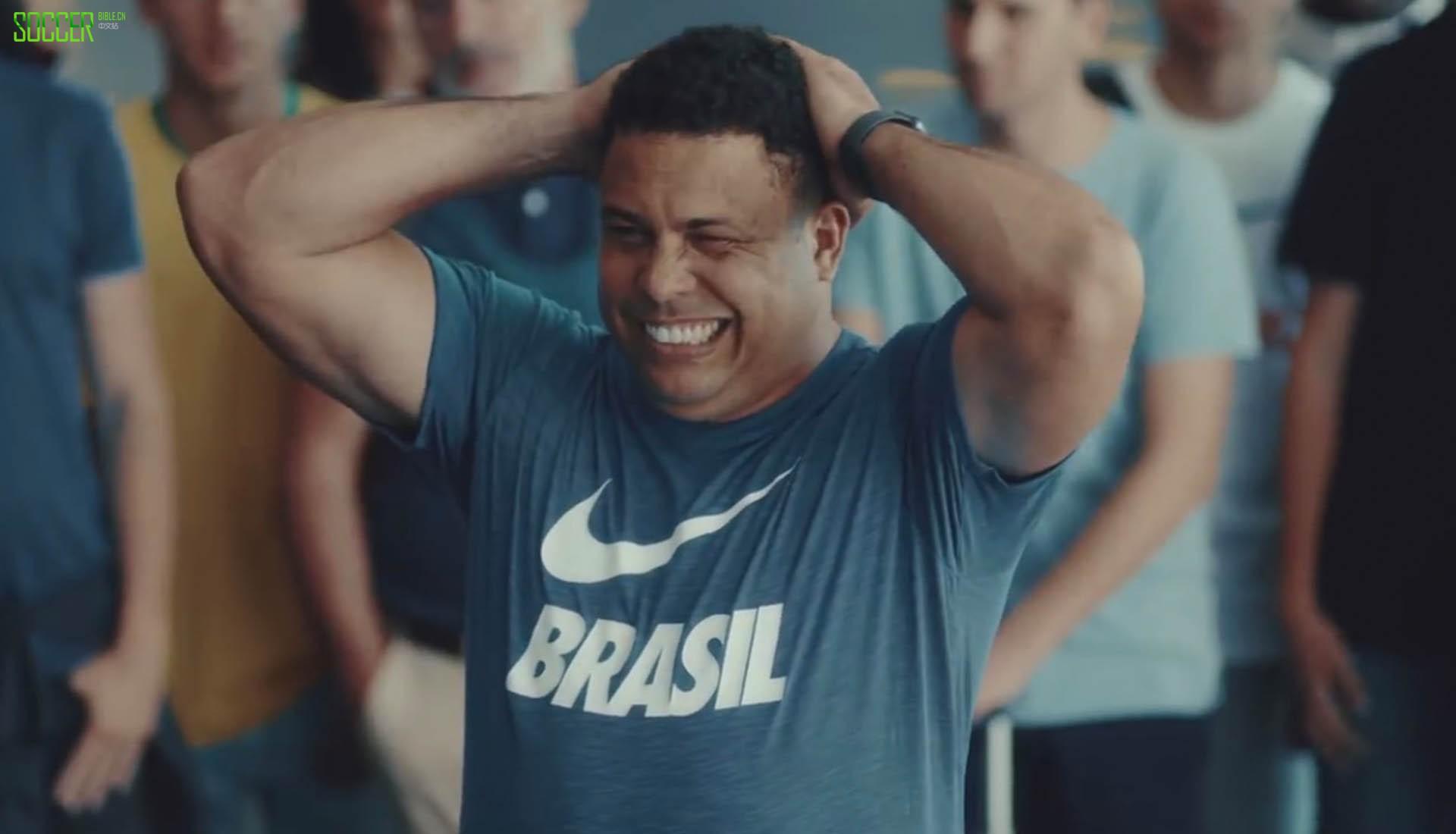耐克发布Brasileiragem世界杯广告